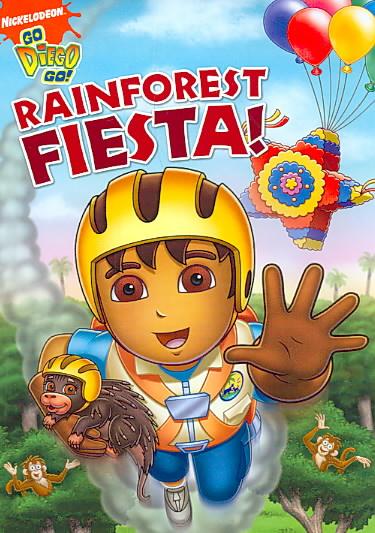 GO, DIEGO, GO!:RAINFOREST FIESTA! BY GO DIEGO GO (DVD)